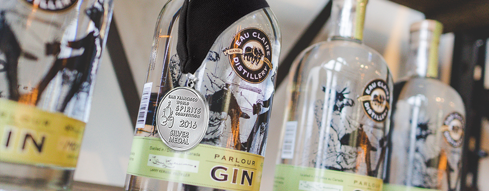 Parlour Gin Wins Three<br> International Awards